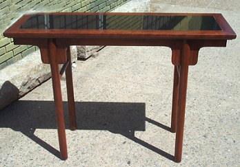 Handcrafted table by John Struble